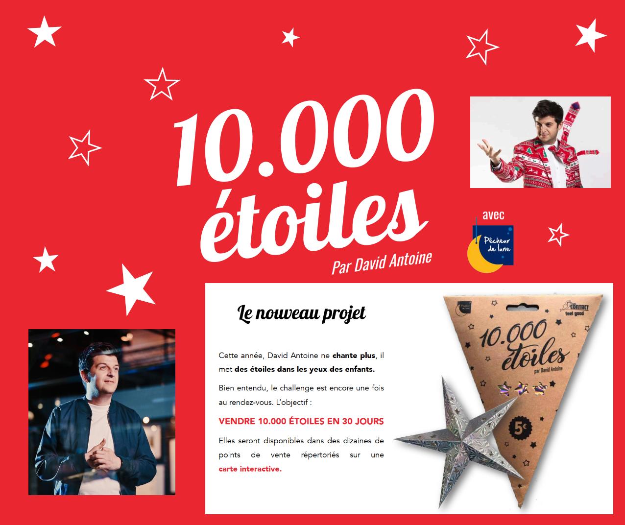 10.000 Étoiles par David Antoine